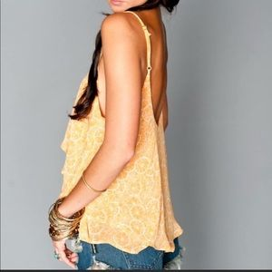 NEW Show Me Your Mimi Jodi Rae Orange Cami